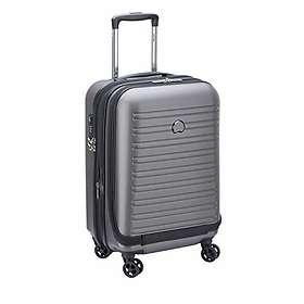 Delsey Segur 2.0 4 Double Wheels Business Expandable Cabin Trolley Case 55cm