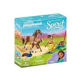 Playmobil Spirit 70122 Pru med häst och föl