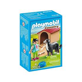 Playmobil Country 70136 Dog with Doghouse