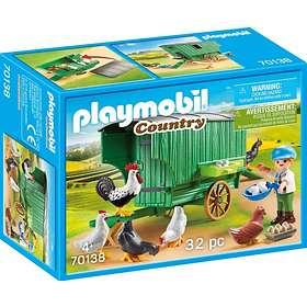Playmobil Country 70138 Enfant et poulailler