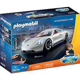 Playmobil The Movie 70078 Rex Dasher et Porsche Mission E