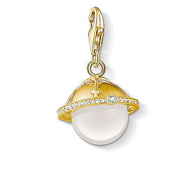 Thomas Sabo Golden Planet Charm Pendant Berlock (Dam)
