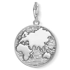 Thomas Sabo Disc World Charm Pendant Berlock (Dam)