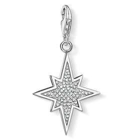 Thomas Sabo Glitter Star Charm Pendant Anheng (Dame)