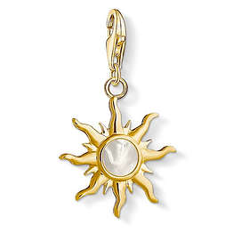 Thomas Sabo Sun With Mother Of Pearl Stone Charm Pendant Anheng (Dame)