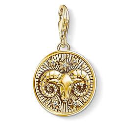 Thomas Sabo Zodiac Sign Aries Charm Pendant Anheng (Dame)
