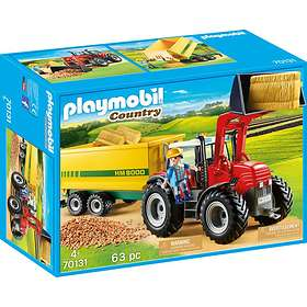 Playmobil Country 70131 Traktor med släp