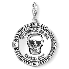 Thomas Sabo Disc Skull Charm Pendant Berlock (Dam)