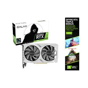 Galax/KFA2 GeForce RTX 2060 White Mini (1-Click OC) HDMI DP 8Go