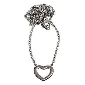 Edblad Monaco Heart Short Steel Halsband (Dam)