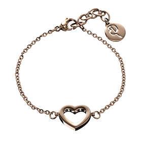 Edblad Monaco Heart Thin Rose Gold Armbånd (Dame)