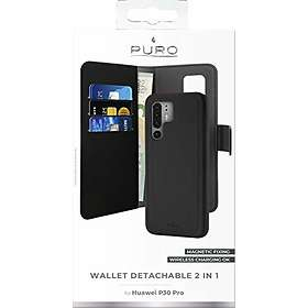 Puro Wallet Detachable for Huawei P30 Pro