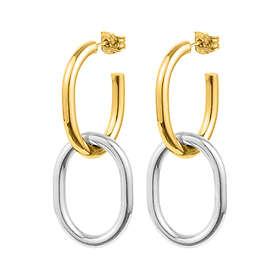 Sophie By Sophie Two Tone Earrings Gold Top Version Øreringer (Dame)