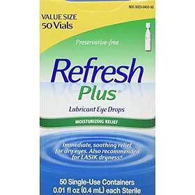 Refresh Plus Lubricant Eye Drops 50x0.4ml
