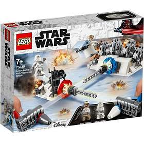 LEGO Star Wars 75239 Action Battle Hothin generaattorin hyökkäys