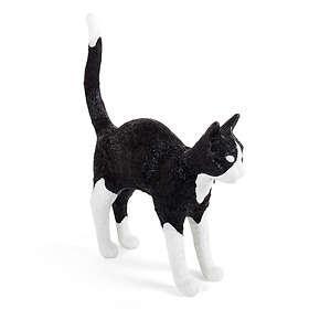 Seletti Sobby The Cat Black & White