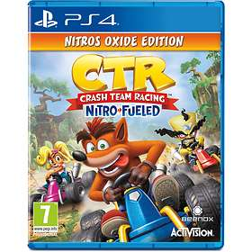 CTR Crash Team Racing - Nitro Fueled - Oxide Edition (PS4)