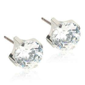 Blomdahl Tiffany Crystal 5mm Örhängen (Dam)