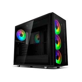 Fractal Design Define S2 Vision RGB Blackout (Black/Transparent)