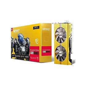 Sapphire Radeon RX 590 Nitro+ Gold Edition (11289-07) 2xHDMI 2xDP 8Go