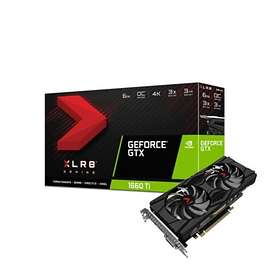 PNY GeForce GTX 1660 Ti XLR8 Gaming OC Dual Fan HDMI DP 6Go