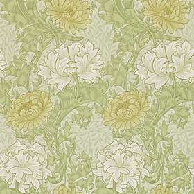 Morris & Co. Archive II Chrysanthemum Pale Olive (212545)