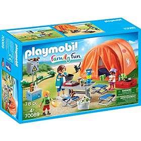 Playmobil Family Fun 70089 Tente et campeurs