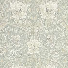 Morris & Co. Pure North Honeysuckle & Tulip Grey Blue (216525)