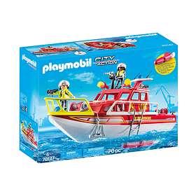 Playmobil City Action 70147 Brandräddningsbåt