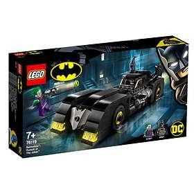 LEGO DC Comics Super Heroes 76119 Batmobile: Jokerin takaa-ajo