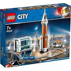 LEGO City 60228 Ulkoavaruuden raketti ja laukaisun valvomo