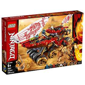 LEGO Ninjago 70677 Le Q.G des ninjas