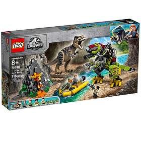 LEGO Jurassic World 75938 Tyrannosaurus rexin taistelu Dino-robottia vastaan