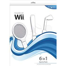 Blue Ocean Accessories 6 in 1 Sports Pack (Wii)
