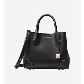 Michael Kors Mercer Gallery Small Pebbled Leather Satchel Bag