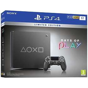 Sony PlayStation 4 Slim 1To - Days of Play Limited Edition