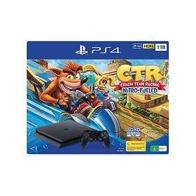 Sony PlayStation 4 Slim 1TB (incl. Crash Team Racing - Nitro Fueled Edition)