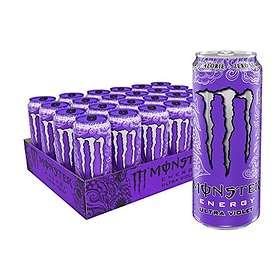 Monster Energy Ultra Violet Burk 0,5l 24-pack