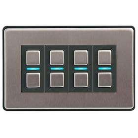 LightwaveRF 4 Gang Smart Dimmer L24