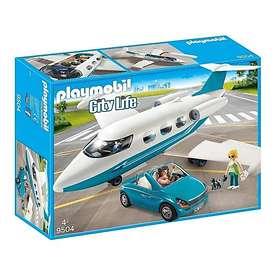 Playmobil City Life 9504 Executive Jet & Car