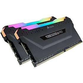 Corsair Vengeance Black RGB LED Pro DDR4 3200MHz 2x16GB (CMW32GX4M2Z3200C16)