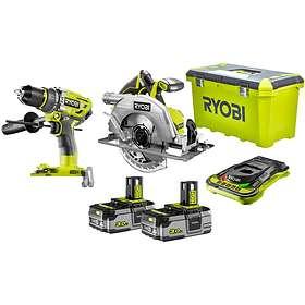 Ryobi R18PD7-220S + R18CS7-0 (2x3,0Ah)