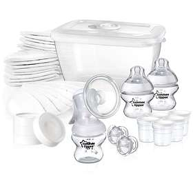Tommee Tippee Closer To Nature Manual Breast Feeding Kit