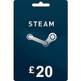 Steam Gift Card - 20 GBP