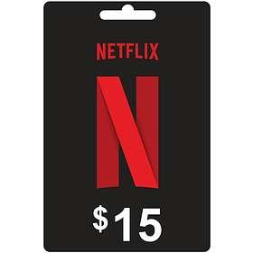 Netflix Gift Card - 15 USD