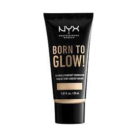 NYX Born To Glow Naturally Radiant Foundation 30ml
