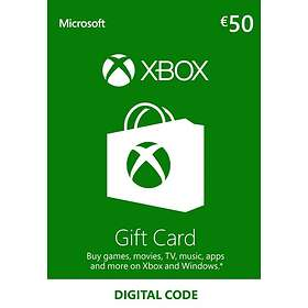 Xbox Live Gift Card 50 EUR