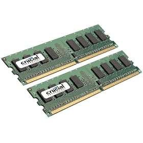Crucial DDR2 PC5300/667MHz ECC CL5 4x2GB