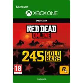 Red Dead Online: 245 Gold Bars (Xbox One)