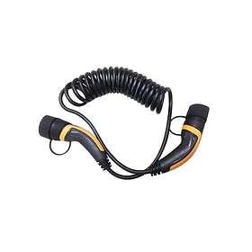 EV Solution Spiral Typ 2 - Typ 2 16A 1-fas 3,6kW